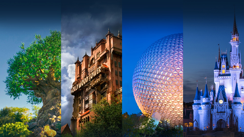wdw-four-parks-collage