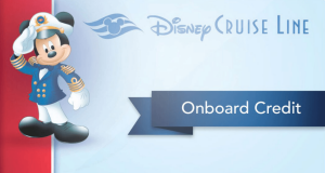 Disney Cruise Line Introduces Ability to Purchase Onboard Credit Through Gifts and Amenities Site