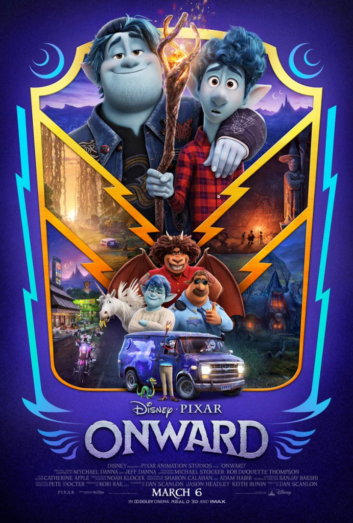 Pixar Releases New Onward Trailer And Character Posters