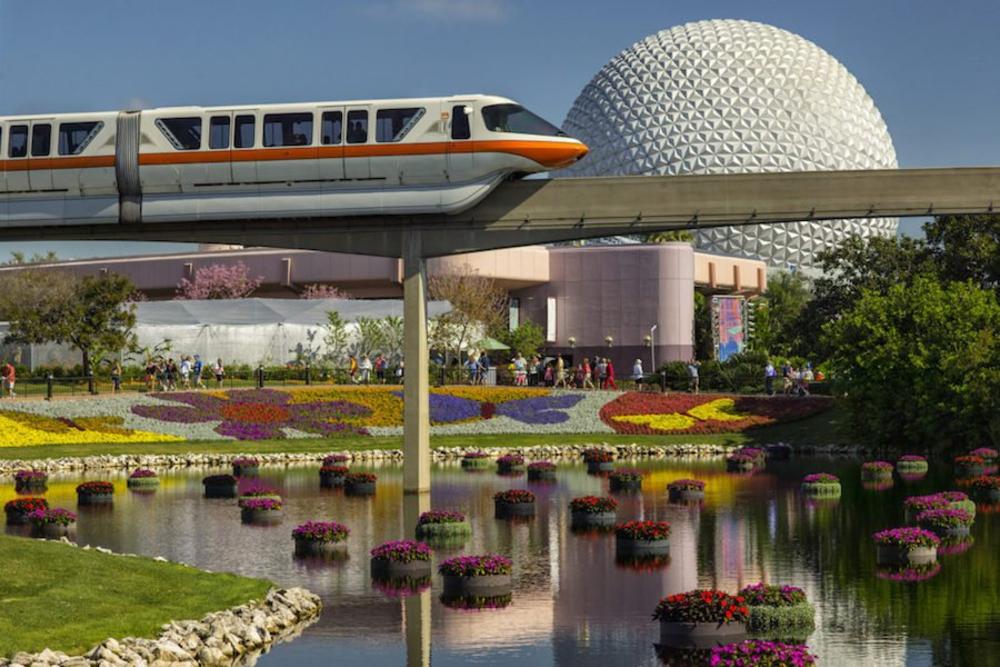 epcot-flower-garden-monorail