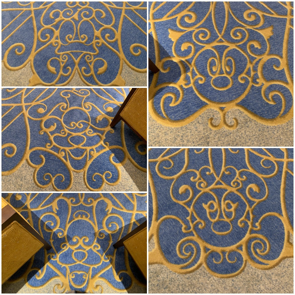 riviera-elevator-carpet-character-collage