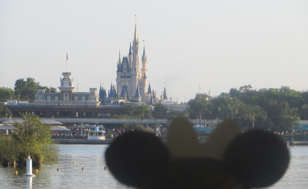 Castle with mickey ears