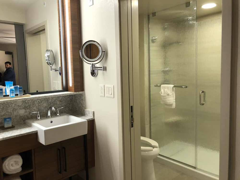 Coronado Springs Preferred Room Bathroom Shower