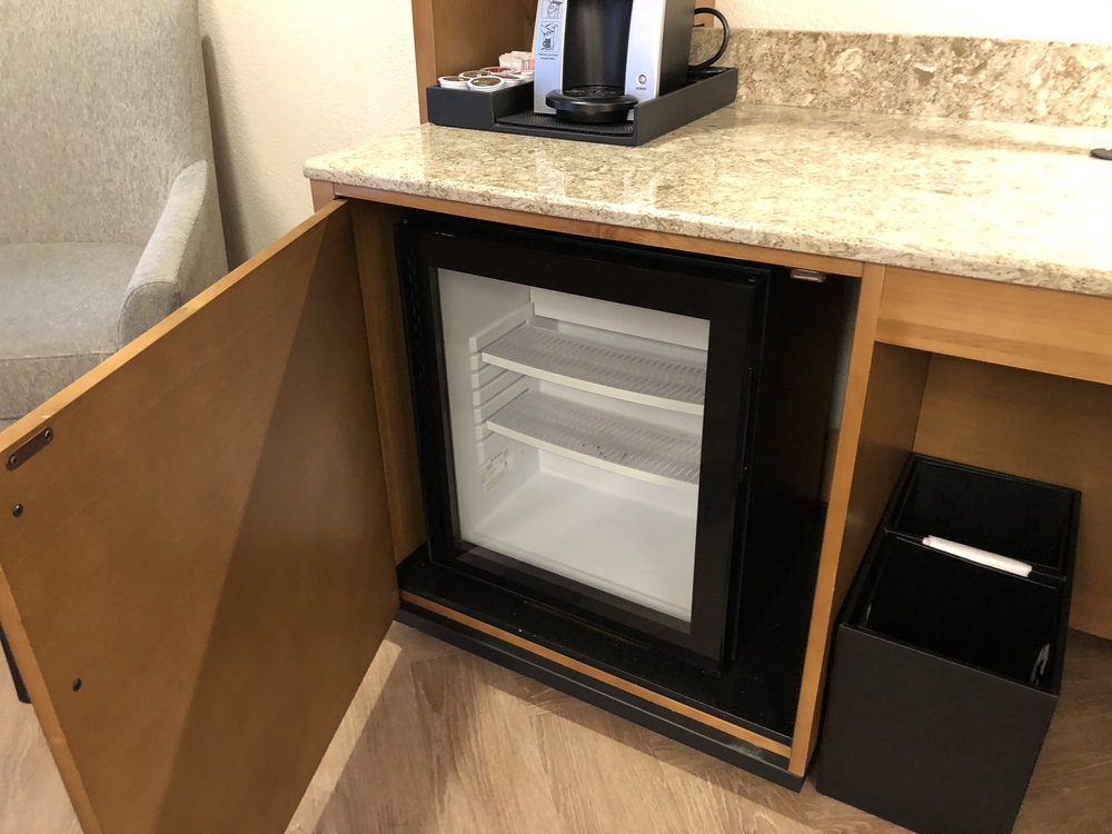 Coronado Springs Resort Preferred Room Fridge