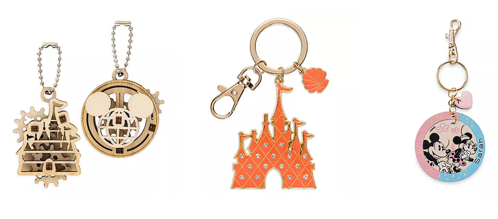 Disney Store keychains