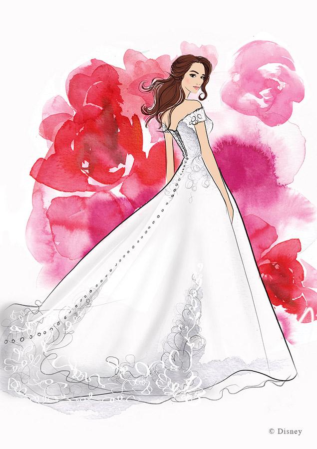 Allure Bridals Creating Disney Princess Wedding Dresses