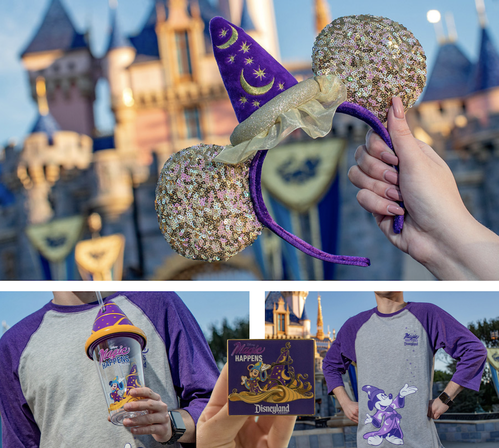 Magic Happens Disneyland Merchandise