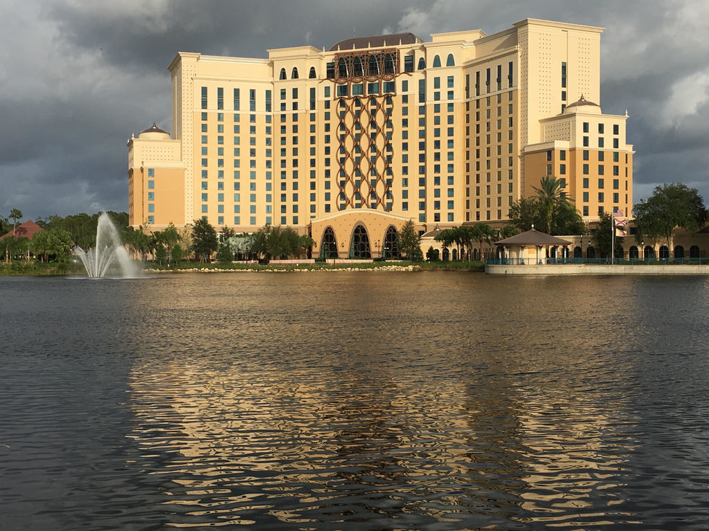 Photo of lake and Coronado Resort Tower