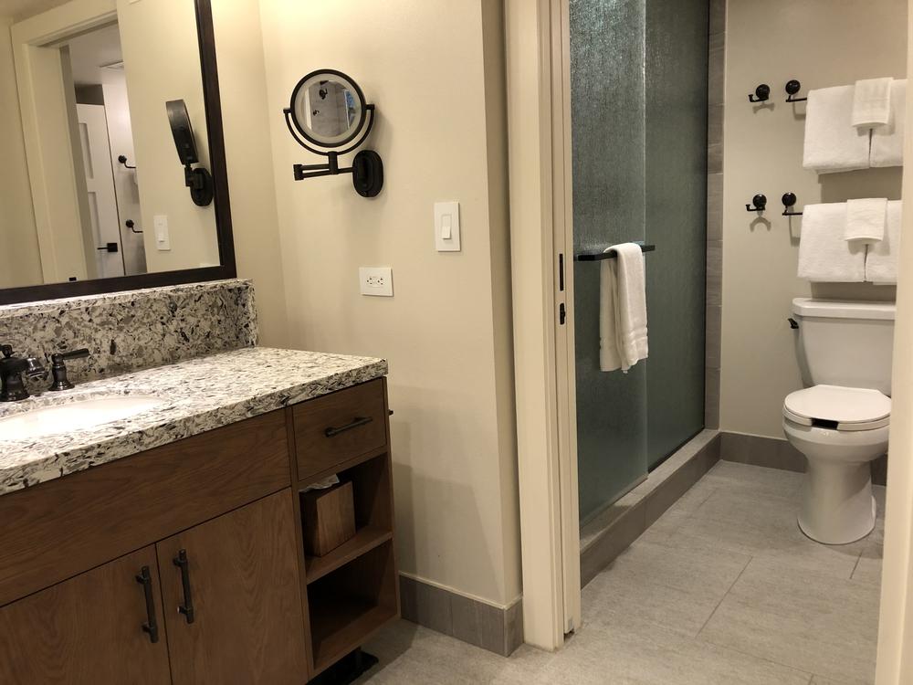 Wilderness Lodge Copper Creek 2 Bedroom Master Bath