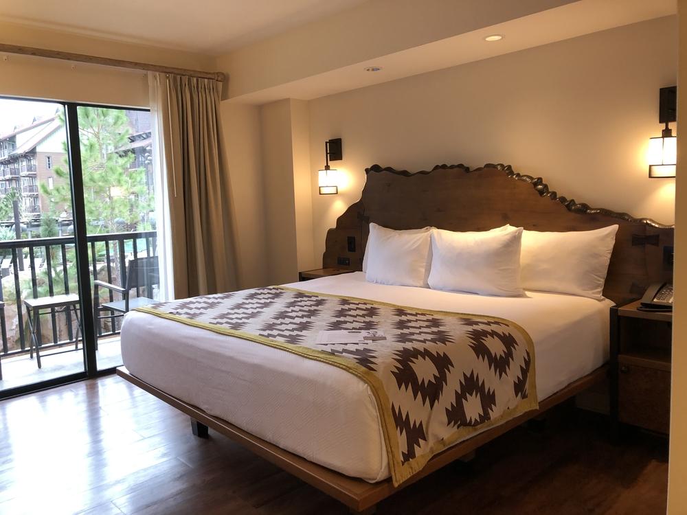 Wilderness Lodge Copper Creek 2 Bedroom Master Bed