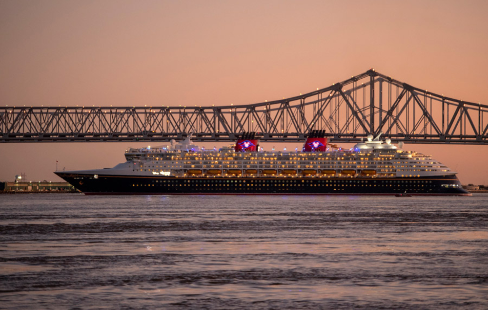 Disney Cruise Line Sailing Out of New Orleans; 50 Percent Off Deposit Offer Ending Soon