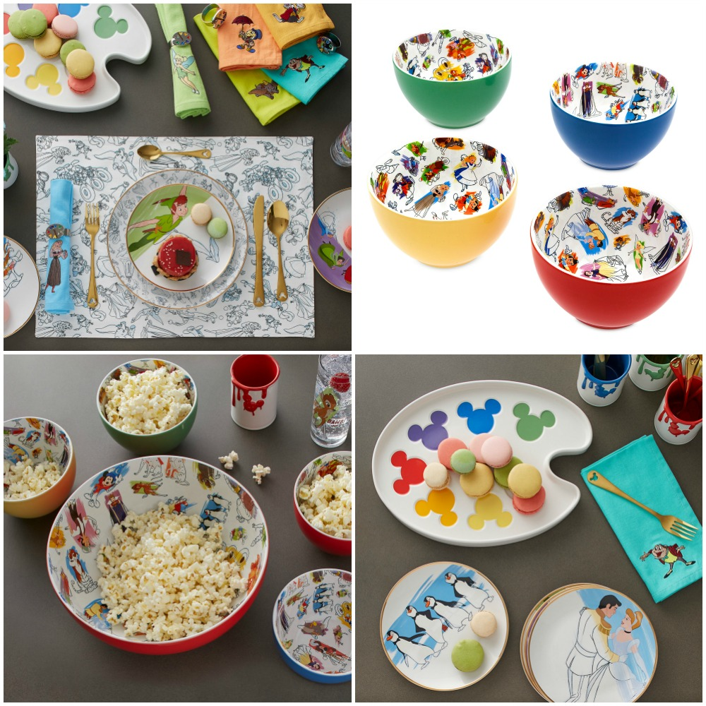 disney-ink-paint-kitchen-collage