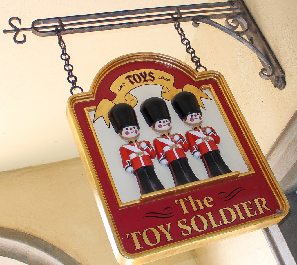 The Toy Soldier is the Kidcot Stop at the UK pavilion.