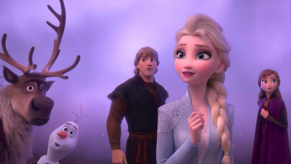 Frozen 2 on Disney