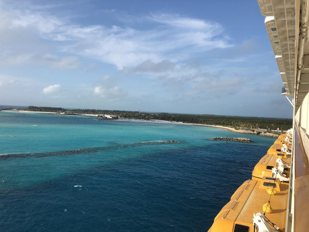 Castaway Cay from Disney Dream Verandah