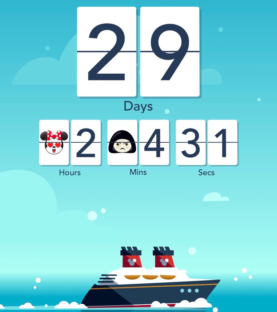 DCL app countdown