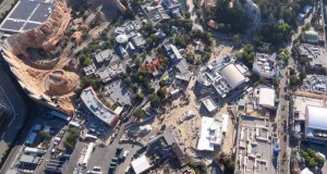 Helicopter Pilot Flies Over Closed Disney California Adventure