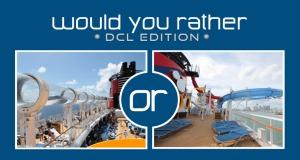 Would You Rather - DCL Edition: AquaDuck or AquaDunk?