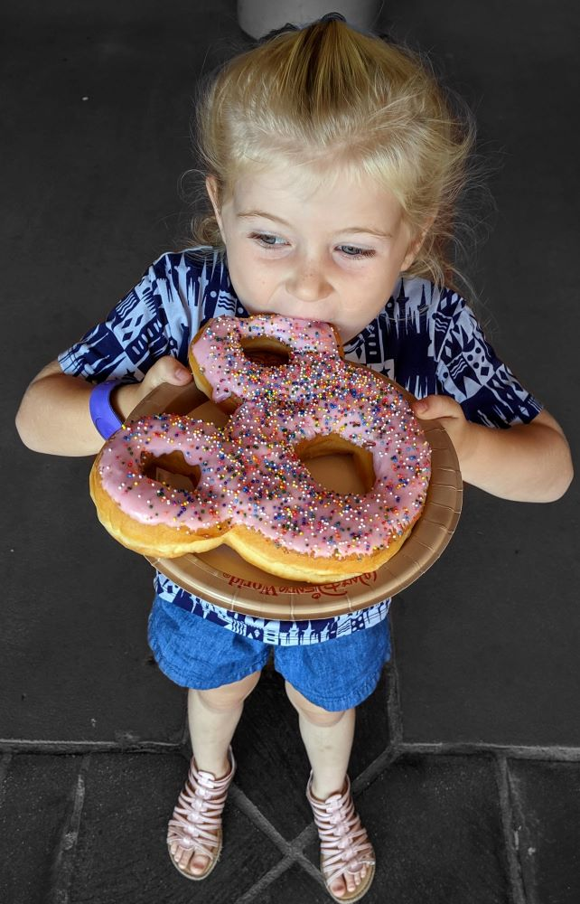 Giant Mickey Donut