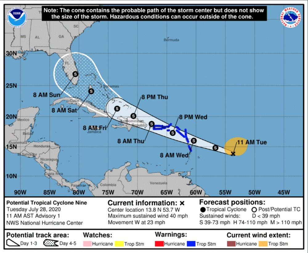 Hurricane Watch Net Activating as Hurricane Isaias Approaches US East Coast