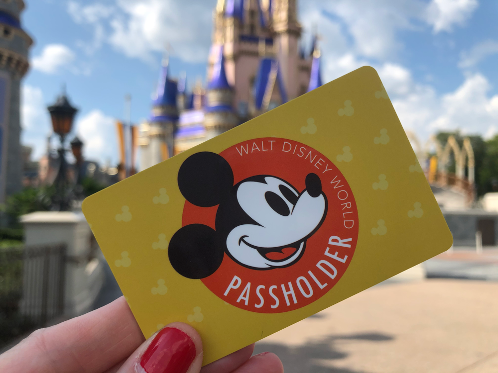 New Sales of Walt Disney World Annual Passes Paused for Now