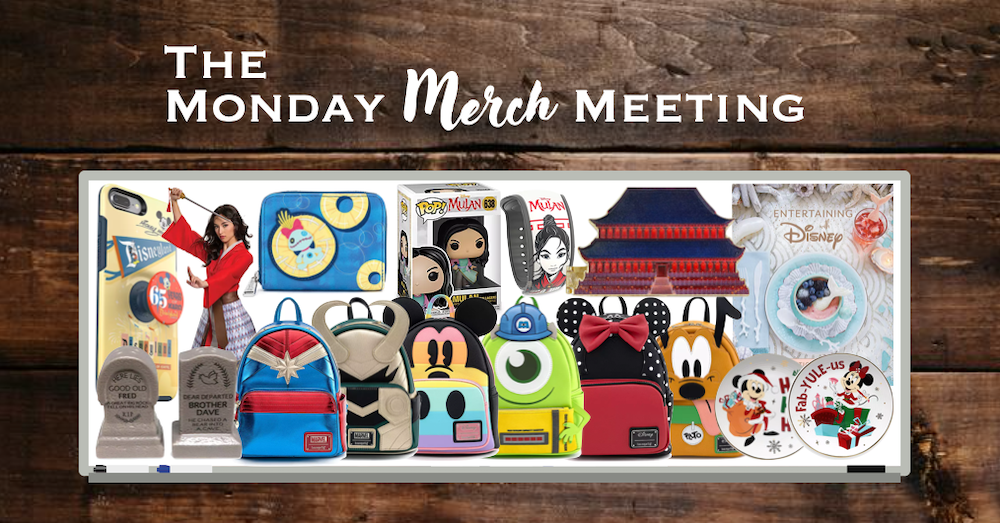 Monday Merch Meeting Loungefly Mulan Castle Collection Holidays More