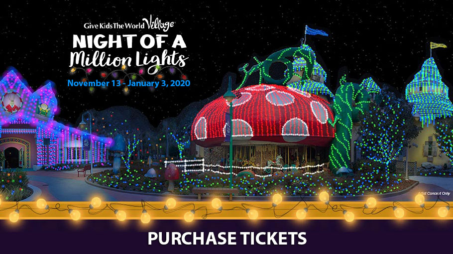 Night of a Million Lights at Walt Disney World