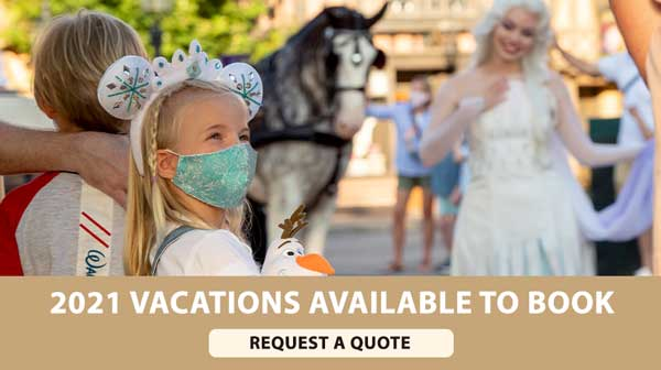 Walt Disney World Resort Reservations Available Through End of 2021