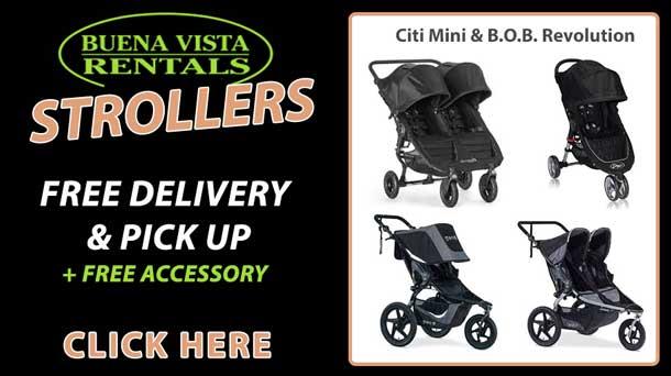 Buena Vista Stroller Rentals