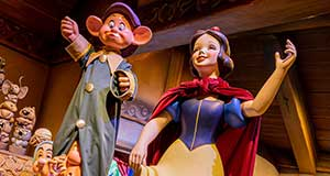 FIRST LOOK at Renamed/Reimagined Snow White Attraction at Disneyland