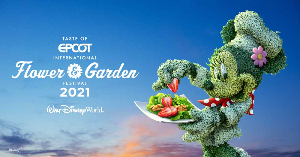 Epcot Christmas Festival 2021 2021 Epcot Flower And Garden Festival Walt Disney World