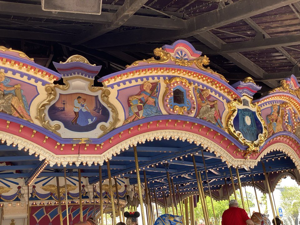 Prince Charming Regal Carrousel disney