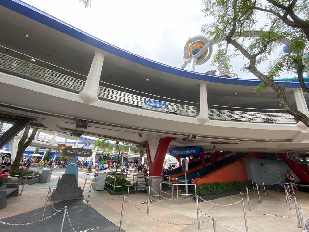 Tomorrowland Transit Authority PeopleMover