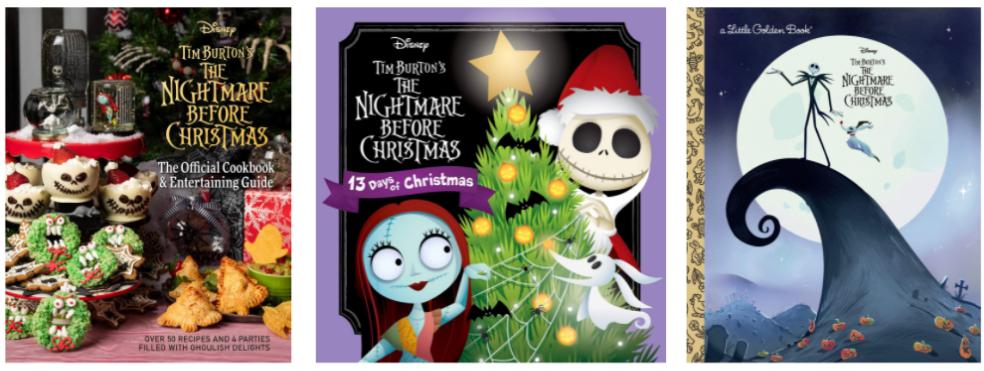 Nightmare Before Christmas Books