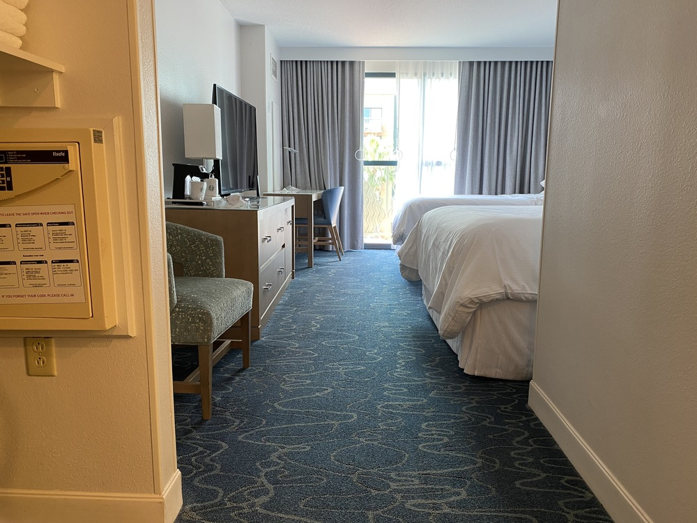 Dolphin resort wheelchair accessible room