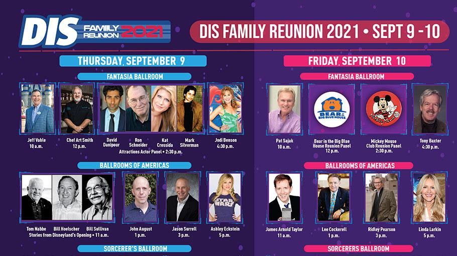 DIS Family Reunion