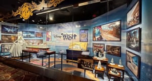 Exploring the Disney Wish Details Found in the New Exhibit at Hollywood Studios!